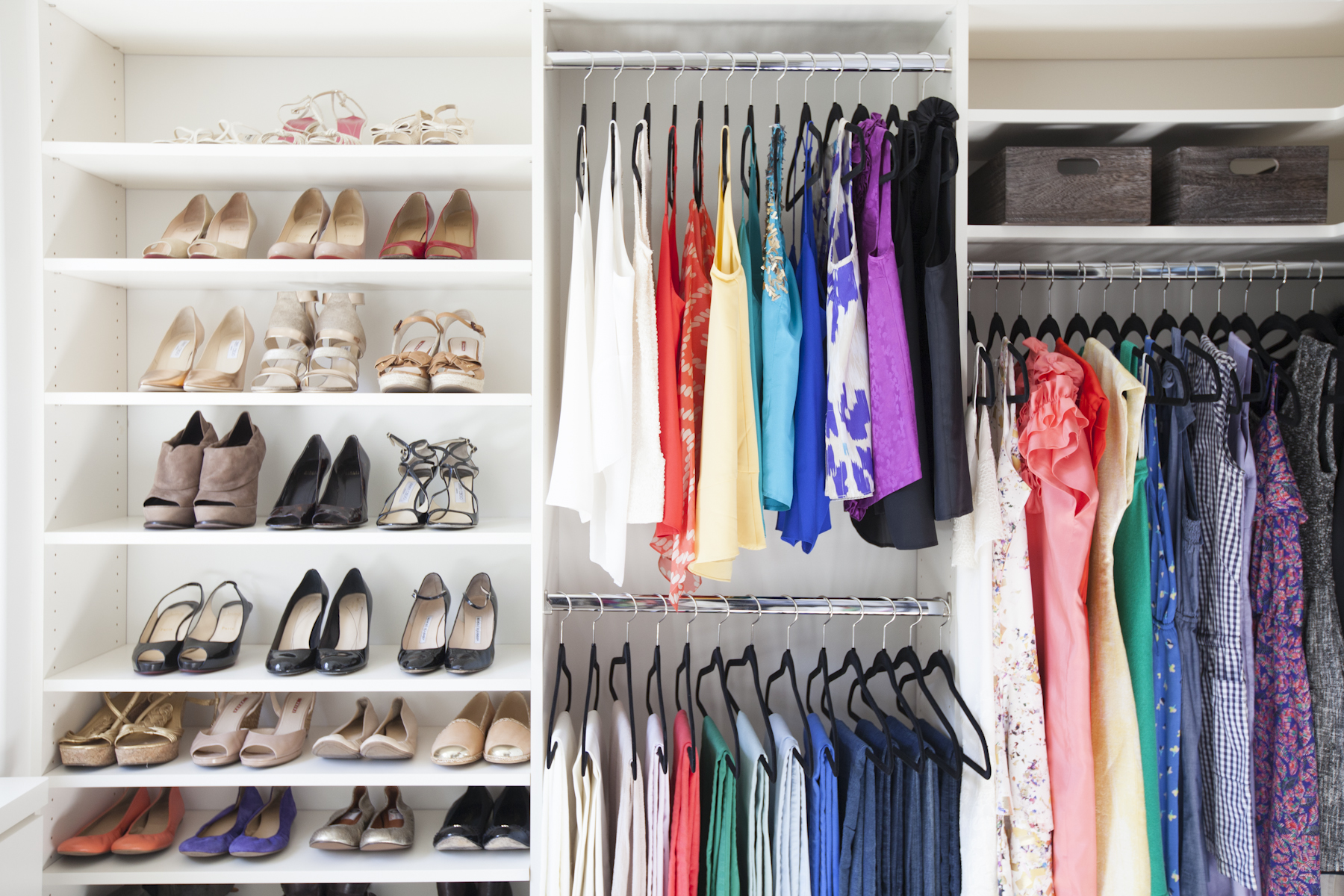 living clothes your harris homes stored closet need jillian than laundry lolv s arrange after shares be and top western what inside will organizing differently linens organized her design to tips according