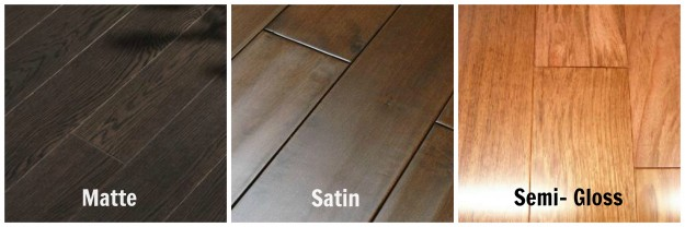Hmm satin or semi gloss home select for Wood floor finishes