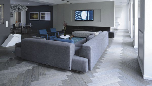 Grey Living Room With Blue Accents many shades of grey flooring | home select