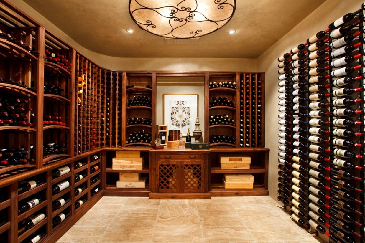 Creating a Wine Cellar in the Basement | Home Select
